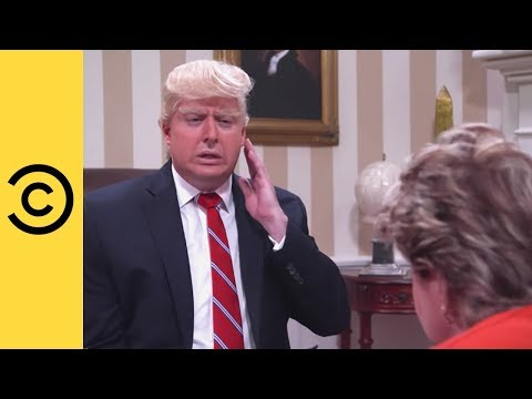 The President Is In Trouble - The President Show | Comedy Central