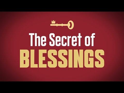 The Secret of Blessings