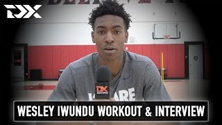 Wesley Iwundu Pro Day Workout Video and Interview