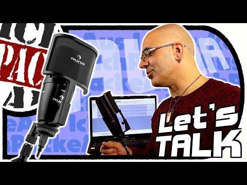 USB MiKROFON auna STUDiO-PRO - Ideal für Vlogs, Let's Plays, Musikinstrumente u.m. (Unboxing/Test)