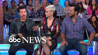 Video The new 'American Idol' judges speak out live on 'GMA' MP3, 3GP, MP4, WEBM, AVI, FLV Juni 2018