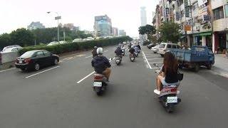 Kaohsiung Taiwan  City new picture : Driving in Kaohsiung, Taiwan by Motorcycle (with good sound)