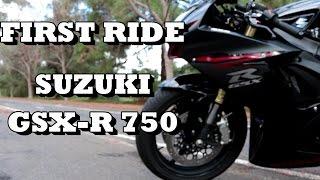 5. First Ride | Review Suzuki GSXR 750!!