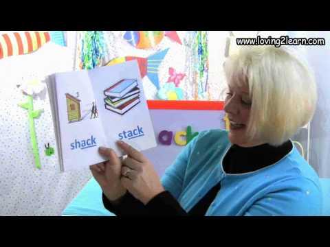 """Word Family """"ack"""" Book видео"""