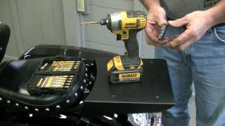 7. Installing Motorcycle Trunk