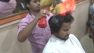 Jhansi fair hair cut