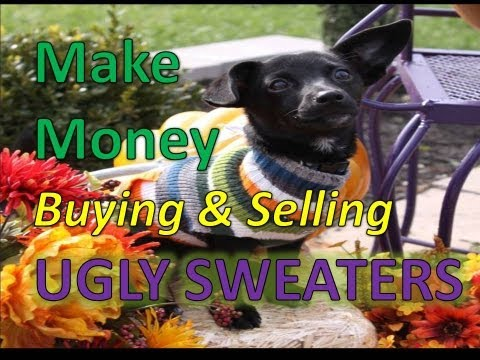 The Clothing Classroom : Make Money Selling Ugly Sweaters – Episode 6