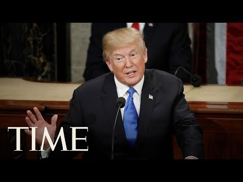 President Donald Trump Gives Remarks On Immigration With 'Angel Families' | TIME
