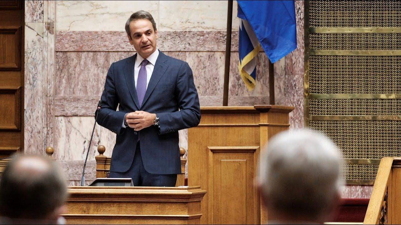 Δευτερολογία του Πρωθυπουργού Κυριάκου Μητσοτάκη στη Βουλή | Προ ημερησίας για τον κορονοϊό