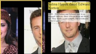 be creativo  Subscribe today and give the gift of knowledge to yourself or a friend Salma Hayek Dating History1 : Salma Hayek Dating History2 : Salma Hayek was engaged to Francois-Henri Pinault3 : Salma Hayek was rumored to be with Colin Farrell4 : Salma Hayek dated Josh Lucas5 : Salma Hayek was rumored to be with Ben Affleck6 : Salma Hayek dated Edward Norton