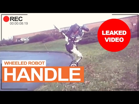 Boston Dynamic's Wheeled Robot called Handle [Leaked Video]