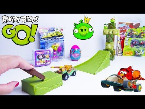 Jogos de meninas - Canal ToyKids Joga Jogo Angry Birds Go! Quem vai ganhar?