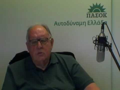 Συνέντευξη του Αντιπροέδρου της Κυβέρνησης, Θεόδωρου Πάγκαλου, στη διαδικτυακή τηλεόραση του ΠΑΣΟΚ, PASOK web tv, 23.04.2012.