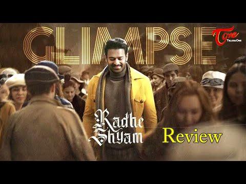 Radhe Shyam First Glimpse Review | Prabhas,  Pooja Hegde | TeluguOne