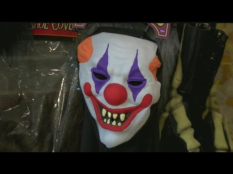 Party stores still selling clown costumes, but not many are buying