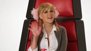 Christina Aguilera's Gaga, Miley Cyrus & Britney  Spears Impressions
