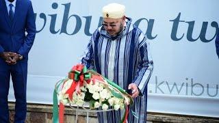 دقيقة صمت ملكية على ضحايا الابادة الجماعية برواندا