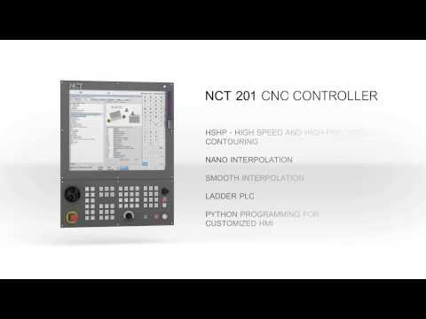 Обзорный ролик системы ЧПУ NCT201