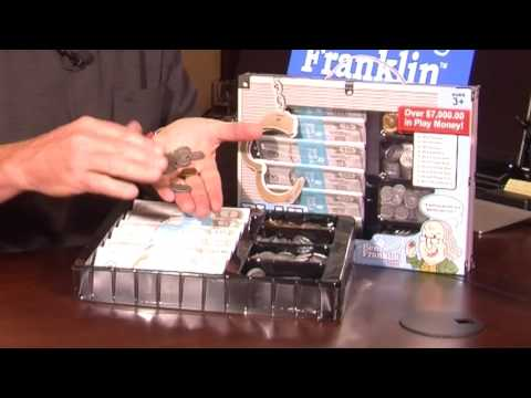 The Ben Franklin Toys Play Money Set by Thin Air Brands