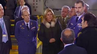 S.M. el Rey visita el Instituto Nacional de Técnica Aeroespacial (INTA) en Torrejón de Ardoz