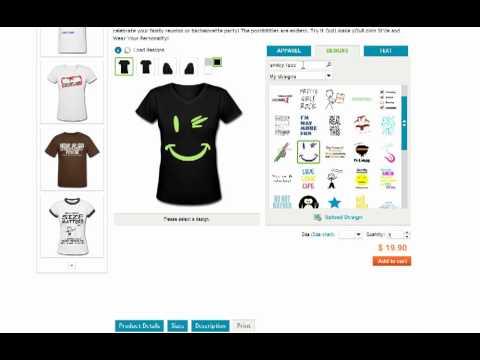 How to Make Your Own Custom Shirt Online