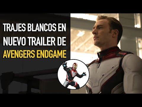 ¿Trajes Cuánticos? l Nuevo trailer Avengers Endgame