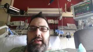 Unfortunately there were some complications with my broken leg so I'm back in the hospital, but I expect to he back soon. :)