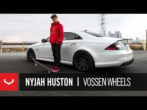 Day in The Life - Pro Skateboarder Nyjah Huston takes Vossen Wheels along for the ride in his Mercedes CLS 63. Watch as the Street League Champion shows us a few of his favori...