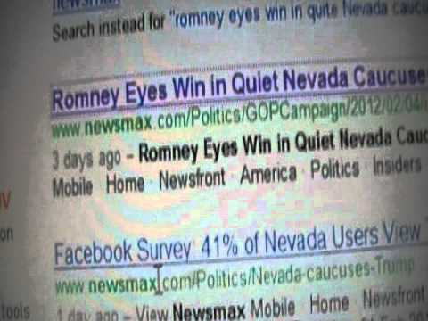 nevada caucus - Follow up on the corrupt article I posted yesterday. The same Yahoo/AP article I showed you yesterday.... Guess what, someone else also saw something similar...
