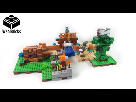 Lego Minecraft 21135 The Crafting Box 2 0 Build 2 of 3 - Lego Speed Build