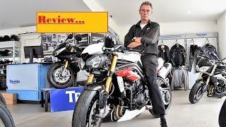 8. 2017 Triumph Speed Triple quick Review in australia