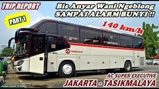 Video TRIP NEW PRIMAJASA - SPEEDO MENTOK ALARM BUNYI !!! JKT-TASIK NAIK BIS SUPER EXECUTIVE (PART 1) MP3, 3GP, MP4, WEBM, AVI, FLV Oktober 2018