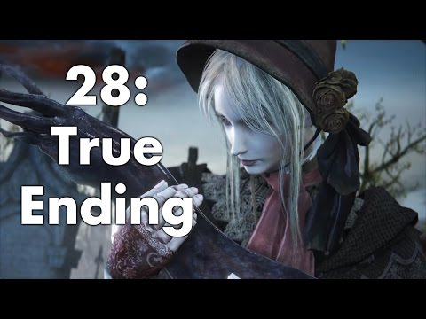 Bloodborne: Cutscenes & Bosses 28 - Gehrman And Moon Presence (True Ending)