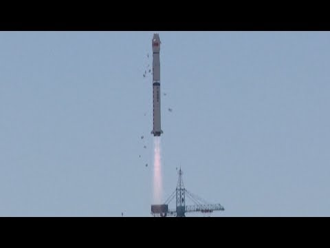 Hard X-ray Modulation Telescope (HXMT / 硬X射线调制望远镜) launch, 15 June 2017