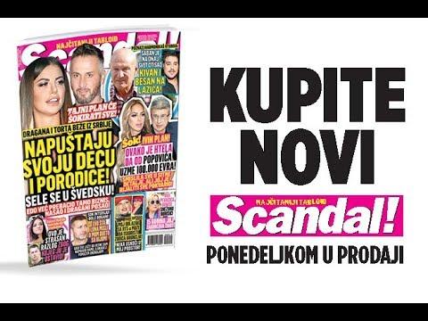 SCANDAL NOVINE: Dragana i Torta beže iz Srbije, napuštaju decu i sele se u Švedsku! Đole Đogani progovorio o duetu sa Kijom! Šaban besan na Darka Lazića