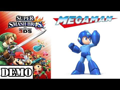 mega - Vídeo da Demo do game Super Smash Bros 3DS, demonstrando o personagem Mega Man. ----------------------------------------------------------------------------------------- Siga-me no twitter:...