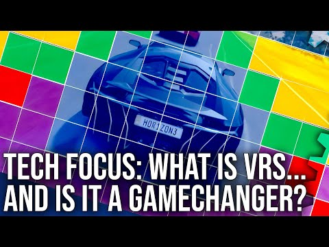 Tech Focus: What Is VRS And Is It A Next-Gen Game-Changer? Variable Rate Shading Analysis!
