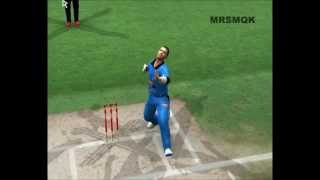 Shaun Tait Bouncer To Chris Gayle (EA Sports Cricket 2013 Patch By A2 Studios)