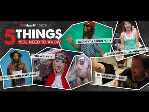 5 Things You Need to Know: Jared Leto + Lil Jon & more!