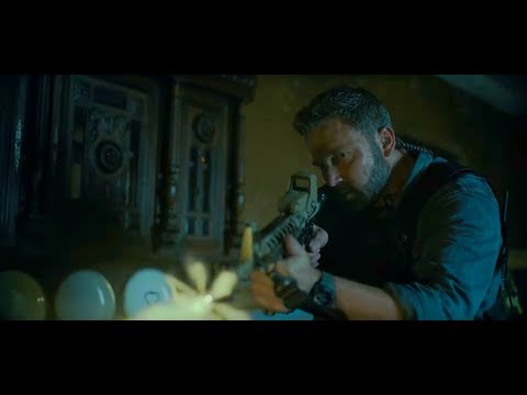 Triple Frontier - House Attack/Shootout Scene