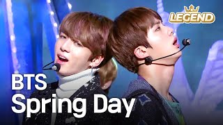 Video BTS - Spring Day | 방탄소년단 - 봄날 [Music Bank HOT Stage / 2017.02.24] MP3, 3GP, MP4, WEBM, AVI, FLV September 2018