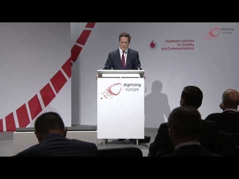 Philipp Humm (Vodafone) at the
