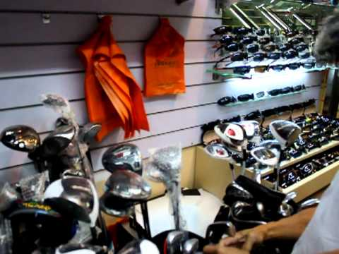 Buying golf clubs in Shanghai,China