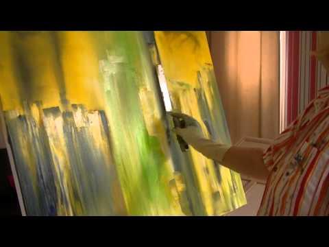 Abstrakte Malerei lernen Speed- Version