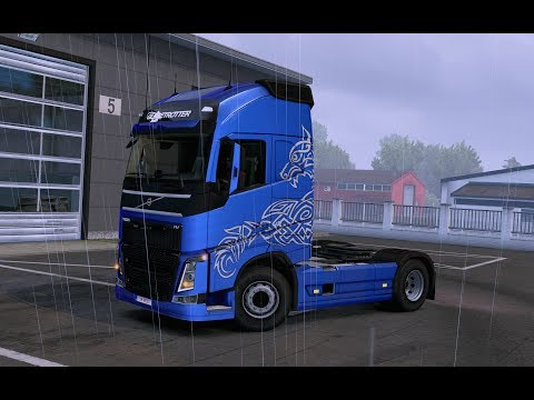 Paint Wolf Light Volvo FH16 2012 8x4 for all trucks