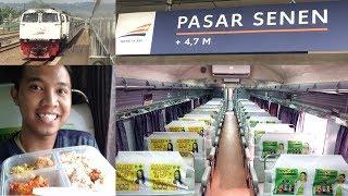 perjalanan dari Jakarta ke Bandung dengan Argo Parahyangan Tambahan kelas bisnis rangkaian Senja Utama Solo