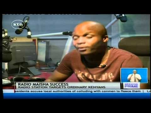 Research shows that Radio Maisha is the fastest growing radio station in Kenya