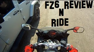 6. Yamaha FZ6 review n motovlog