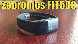 """Are you planning to buy a fitness band for yourself? Don't forget to watch this video before you make your buying decision.Buy Zebronics ZEB-Fit500 from here: Flipkart: http://fkrt.it/~tzxU!NNNNAmazon: http://amzn.to/2s3W4oYDon't visit our Website: http://www.sproductions.inDon't like us on Facebook: http://goo.gl/yf8ToAnyone who works out at the gym and is fitness conscious knows that good food, rest and proper exercise is the key. While dumbbells and treadmills at the gym help you with the workout, I needed to buy a good fitness tracker that would help me measure my sleep and calorie burns as well.I recently got my hands on the Zebronics ZEB-Fit500 fitness band and gave it a try. This is a fairly new entrant and I was not able to find any reviews of it either on any website or on YouTube.Here's my review of the Zebronics ZEB FIT500 fitness band. Hit Like if you liked it, dislike if you didn't.Thank you for watching!Some specifications of Zeb Fit 500 fitness band:Functions available: Heart rate monitorFind phoneAnti lost alertWrist senseTime displayStep pedometerCalorie burnt countDistance trackingSleep monitoringCaller ID from phoneAlarm clockSedentary reminder Camera remote controlPhone SMS WhatsApp message notificationCompatible with iPhone and Android.Display: 1.24cm OLED displayBattery: 70mAh lithium polymerWeight: 25 grams-~-~~-~~~-~~-~-Please watch: """"Share a hard drive with everyone on your Wi-Fi network - Network Hard Drive using Router USB"""" https://www.youtube.com/watch?v=Z8L1v-MN0jA-~-~~-~~~-~~-~-"""