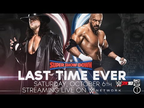 FULL MATCH - The Undertaker vs Triple H : Last Time Ever - WWE Super Show-Down 2018